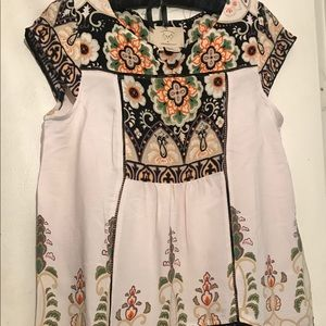 (NWOT) Anthropologie Venessa Virginia Tunic Top